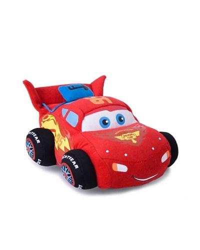 Cars Rayo Mc Queen c/sonidos 30cm – Coche de peluche con sonido (30 cm)