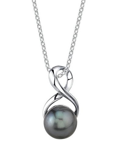 Radiance Pearl Collar Infinity Negro