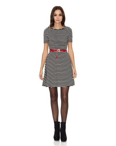 Rare London Vestido Stripe