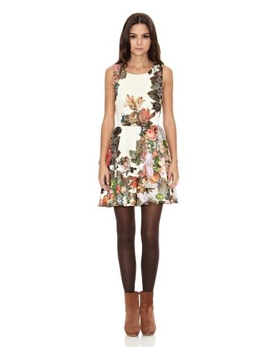 Rare London Vestido Multifloral