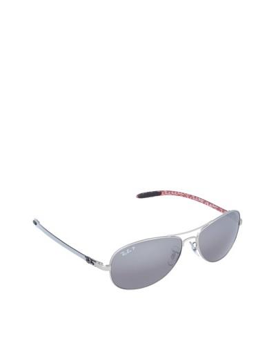 Ray-Ban Gafas de Sol Carbon Fiber MOD. 8301 019/N8 Plateado Mate