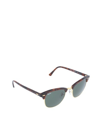 Ray-Ban Gafas de sol Para Hombre RB3016 Clubmaster - W0366: Tortuga / Oro - 51mm