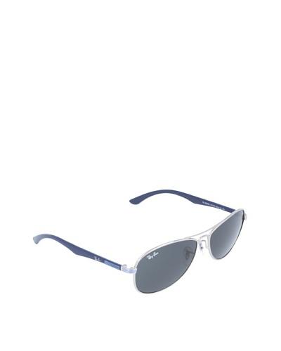 Rayban Junior Gafas de Sol MOD. 9529S SOLE 212/87 Plata / Azul