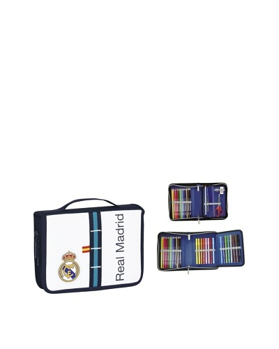 Real Madrid Maletín Dibujo 34 Piezas 21x15