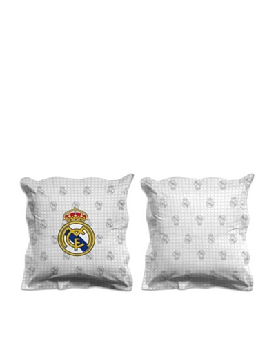 Real Madrid CF Funda Cojín Escudo