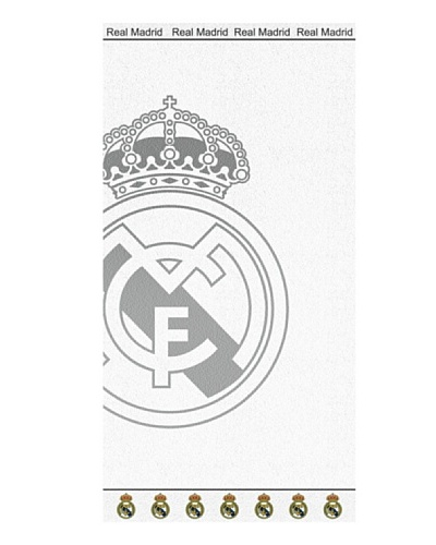 Real Madrid C.F. Toallas de Playa Jaquard