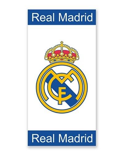Real Madrid C.F. Toallas de Playa Jaquard Cenefas