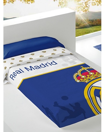 Real Madrid CF Colcha Estampada Escudo