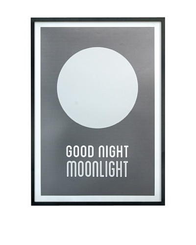 ReallyNiceThings Póster Enmarcado Good Night Moonlight