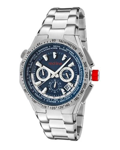 Red Line RL5001433 – Reloj de Caballero movimiento de cuarzo con brazalete metálico Metálico