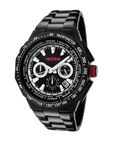 Red Line RL50014BKIP11 – Reloj de Caballero movimiento de cuarzo con brazalete metálico Negro
