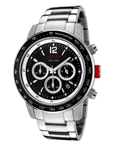 Red Line RL5001211 - Reloj de Caballero movimiento de cuarzo con brazalete metálico Metálico