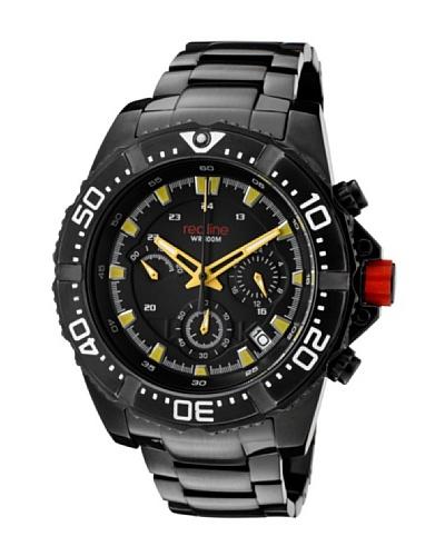 Red Line RL50030VKBB01YL - Reloj de Caballero movimiento de cuarzo con brazalete metálico Negro