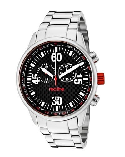 Red Line RL10124 – Reloj de Caballero movimiento de cuarzo con brazalete metálico Metálico