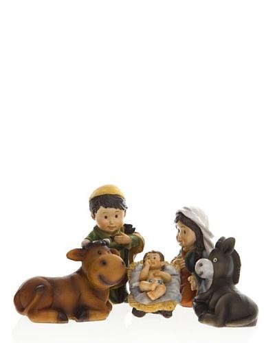 REILA Colección Little Xmas Nacimiento Con Buey Y Mula