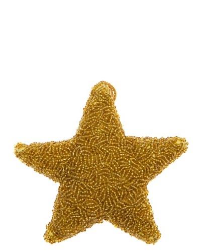 REILA Colgante Estrella Bolitas Dorado