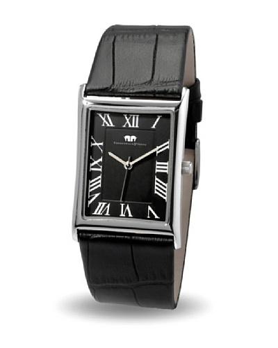 Rhodenwald & Söhne Reloj unisex de cuarzo Dynasty Negro