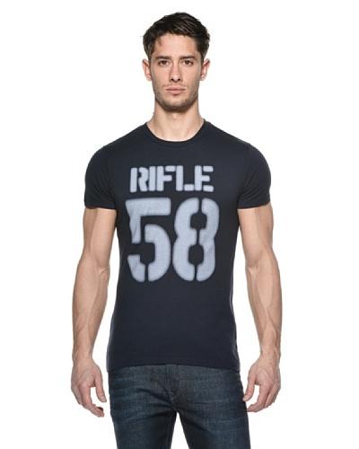 Rifle Camiseta Georgia Azul Oscuro