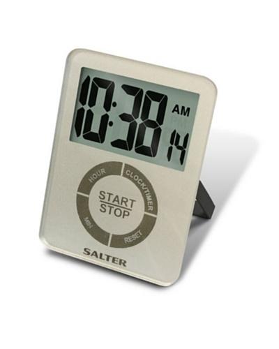 Salter Temporizador Memoria, Reloj 12 Hrs, Timer De 99 Hrs Y 59 Mts, Alarma