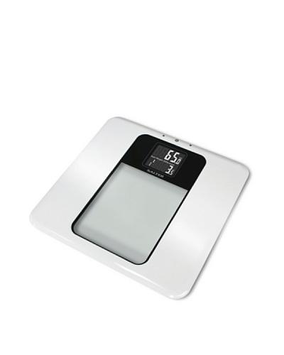 Salter 9063 WH3R – Báscula electrónica de cristal, color blanco