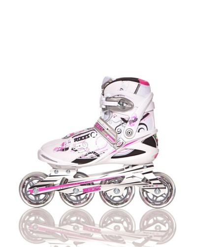 Roces Patines Trails Blanco / Rosa