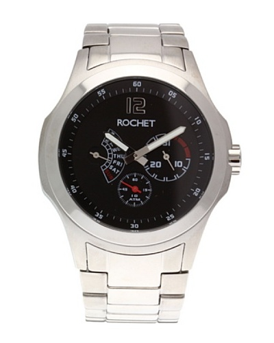 Rochet W411413 - Reloj de Caballero movimiento de cuarzo con brazalete metálico Metálico
