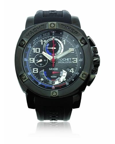 Rochet W307418 Reloj de Caballero movimiento de cuarzo con correa de caucho negro