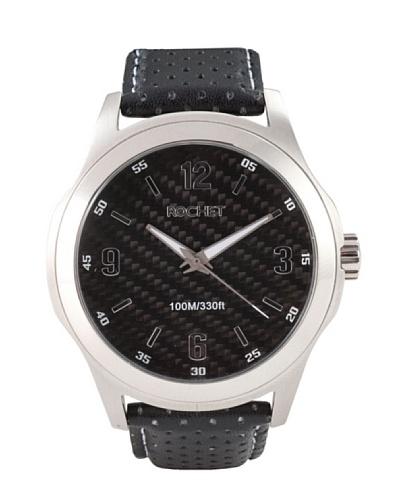 Rochet W101118 – Reloj de Caballero movimiento cuarzo con correa de piel Negro