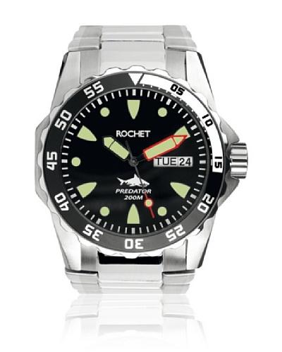 Rochet W504013 Reloj de Caballero movimiento de cuarzo con brazalete metálico plata
