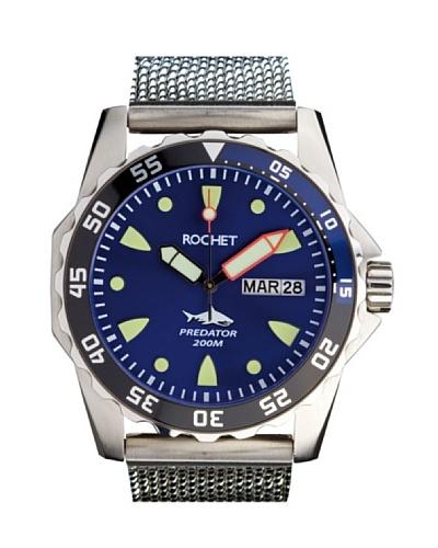 Rochet W504063 - Reloj de Caballero movimiento de cuarzo con brazalete metálico Metálico