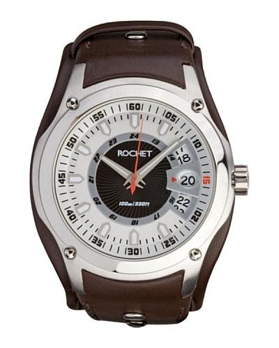 Rochet W205022 - Reloj de Caballero movimiento cuarzo con correa de piel Marrón