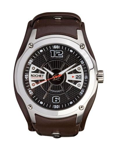 Rochet W204012 - Reloj de Caballero movimiento cuarzo con correa de piel Marrón