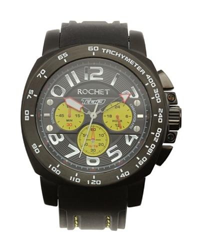 Rochet W104418 - Reloj de Caballero movimiento cuarzo con correa de piel Negro