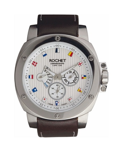Rochet W306005 - Reloj de Caballero movimiento cuarzo con correa de piel Marrón
