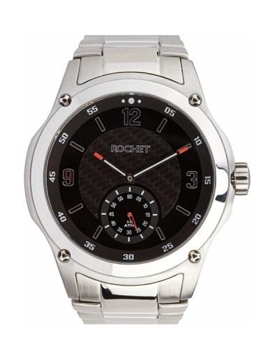 Rochet W102413 - Reloj de Caballero movimiento de cuarzo con brazalete metálico Metálico
