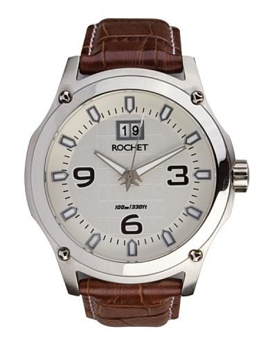 Rochet W403025 - Reloj de Caballero movimiento cuarzo con correa de piel Marrón