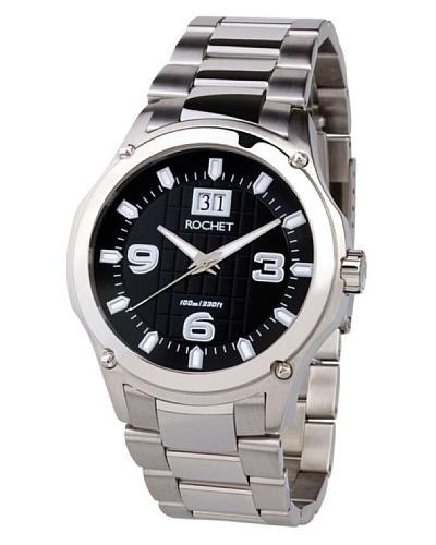 Rochet W403013 - Reloj de Caballero movimiento de cuarzo con brazalete metálico Metálico