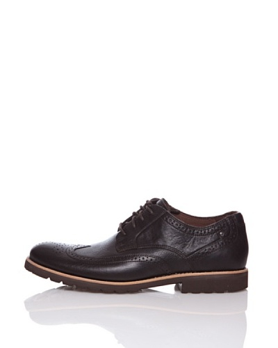 Rockport Zapatos Casual LH Wingtip Marrón Oscuro