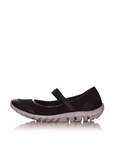 Rockport Merceditas Casual Sport Truwalk Zero Mary Jane Negro