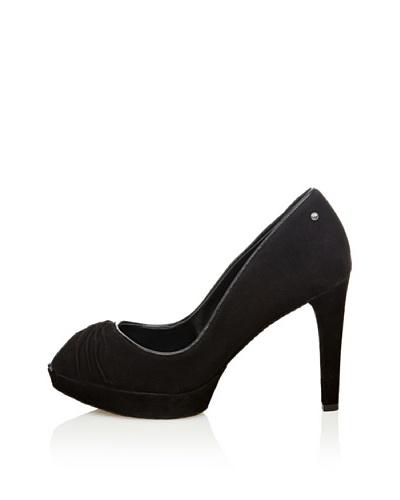 Rockport Zapato Vestir Peep Toe Janae Negro
