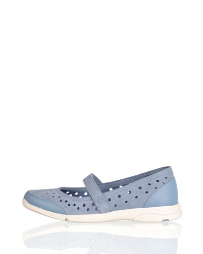 Rockport Merceditas Casual Lavable Faded Denim