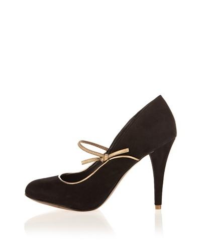 Rockport Zapatos Salón Tacón Presia Negro / Dorado