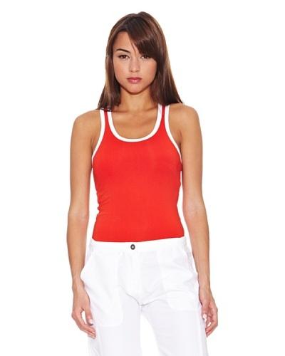 Rox Camiseta Tirantes Pirtafa Rojo / Blanco