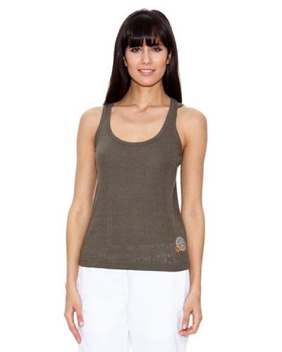 Rox Camiseta Tirantes Piensa Caqui