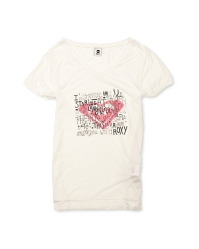 Roxy Camiseta Olivia E Dear Friend Blanco
