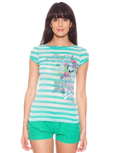 Roxy Camiseta Signature Stripe