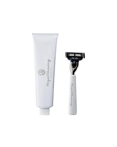 Royal Shaving Maquinilla de Afeitar + Crema Afeitado
