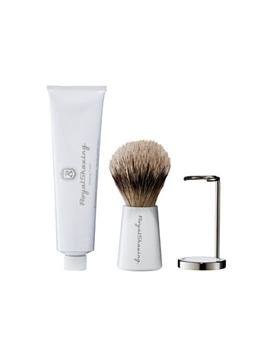 Royal Shaving Crema Afeitado + Brocha + Soporte
