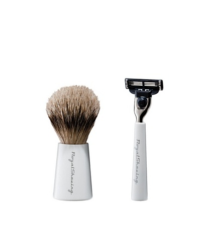 Royal Shaving Brush + Maquinilla de Afeitar