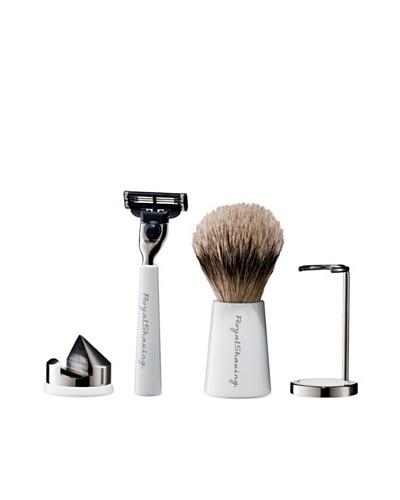 Royal Shaving Pincel + Brocha + Soporte Brocha + Soporte Maquinilla de Afeitar